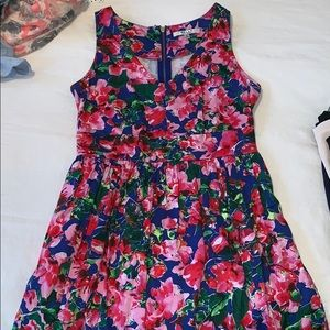 Milly for Kohl's fit and flare flowered dress